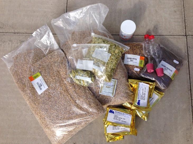 brew ingredients