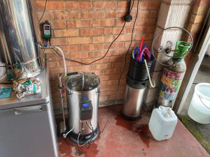 A Grainfather Brewday